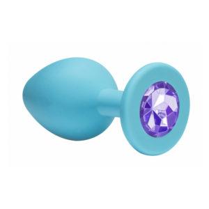 Купить Средняя анальная пробка с сиреневым кристаллом Cutie Medium – 4012-04 в интернет магазине интимных товаров JoyToy