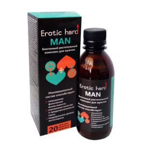 Купить Вытяжка из лекарственных растений для улучшения полового влечения Erotic Hard MAN 250 мл – 11957830-1 в интернет магазине интимных товаров JoyToy