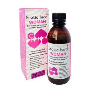 Купить Концентрат для женского либидо и качества секса Erotic hard Woman 250 мл. – 11957831-1 в интернет магазине интимных товаров JoyToy