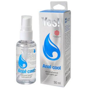 Купить Гель-смазка на силиконовой основе – YES! Anal Сool в интернет магазине интимных товаров JoyToy