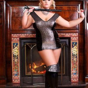 Купить Сексуальное платье и трусики Cosmo в интернет магазине интимных товаров JoyToy