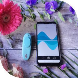Купить Клиторальный вибромассажер WV Moxie-Aqua в интернет магазине интимных товаров JoyToy