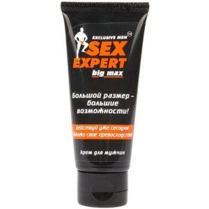 Купить Крем для мужчин SEX EXPERT BIG MAX в интернет магазине интимных товаров JoyToy