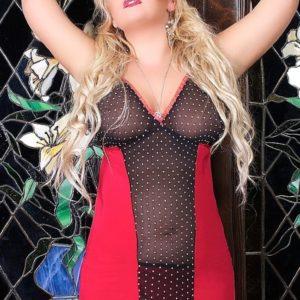 Купить Сексуальная сорочка и трусики LAURA в интернет магазине интимных товаров JoyToy
