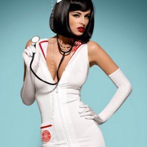 Купить Эротический костюм Emergency dress в интернет магазине интимных товаров JoyToy