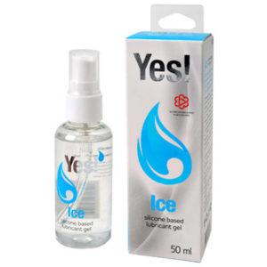 Купить Гель-смазка на силиконовой основе – YES! Ice в интернет магазине интимных товаров JoyToy