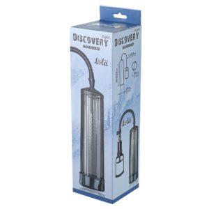 Купить Вакуумная помпа для мужчин 6911-01 Discovery Light Boader в интернет магазине интимных товаров JoyToy