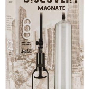 Купить Вакуумная помпа для мужчин 6906-00 Discovery в интернет магазине интимных товаров JoyToy