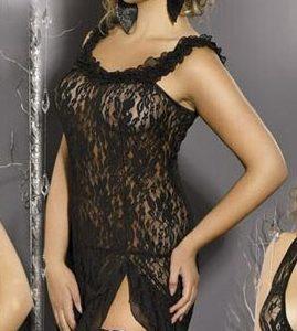 Купить Сексуальная сорочка Black Angel в интернет магазине интимных товаров JoyToy