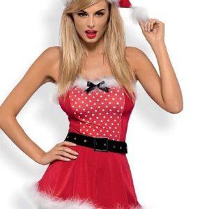 Купить Эротический новогодний костюм Mrs Claus Dress в интернет магазине интимных товаров JoyToy