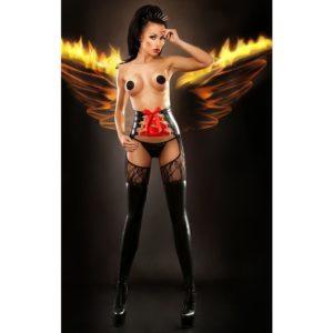 Купить Чулки с поясом 022 Dominatrix stockings в интернет магазине интимных товаров JoyToy