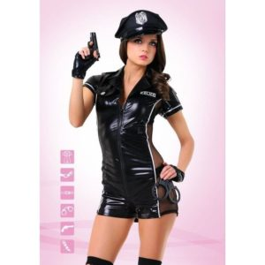 Купить Сексуальный костюм полицейской 02546 в интернет магазине интимных товаров JoyToy
