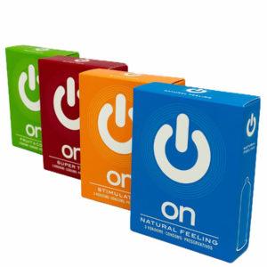Купить Презервативы ON в интернет магазине интимных товаров JoyToy