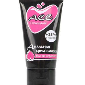 Купить Анальный крем-лубрикант ACC в интернет магазине интимных товаров JoyToy