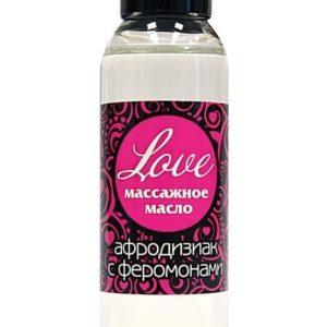 Купить Массажное масло Love с феромонами в интернет магазине интимных товаров JoyToy