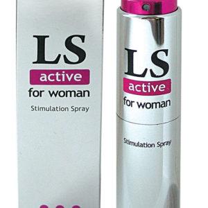 Купить Стимулирующий спрей для женщин LS active в интернет магазине интимных товаров JoyToy