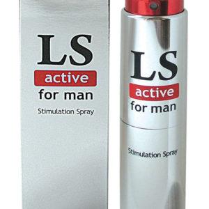 Купить Стимулирующий спрей для мужчин LS active в интернет магазине интимных товаров JoyToy