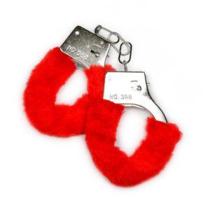 Купить Наручники с меховой опушкой 300 в интернет магазине интимных товаров JoyToy