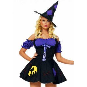 Купить Сексуальный костюм ведьмочки 02141 в интернет магазине интимных товаров JoyToy