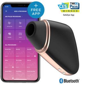 Купить Вакуумный стимулятор клитора с вибрацией 001777SA Satisfyer Love Triangle в интернет магазине интимных товаров JoyToy