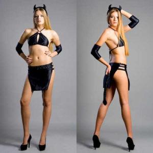 Купить Эротический костюм 2588 Black Demonia в интернет магазине интимных товаров JoyToy