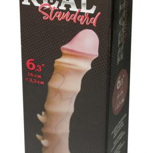 Купить Фаллоимитатор 015103 REAL Standard в интернет магазине интимных товаров JoyToy