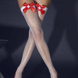 Купить Чулки медсестры в сетку 04821 в интернет магазине интимных товаров JoyToy