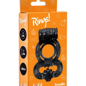 Купить Эрекционное кольцо с вибрацией 0114-62 в интернет магазине интимных товаров JoyToy
